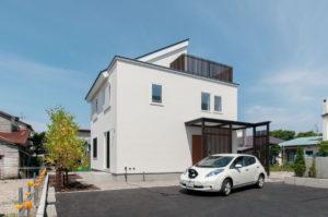 写真:【8年前の高性能住宅】太陽光発電4.2kw採用で光熱費は年間約4万円/函館市・S邸